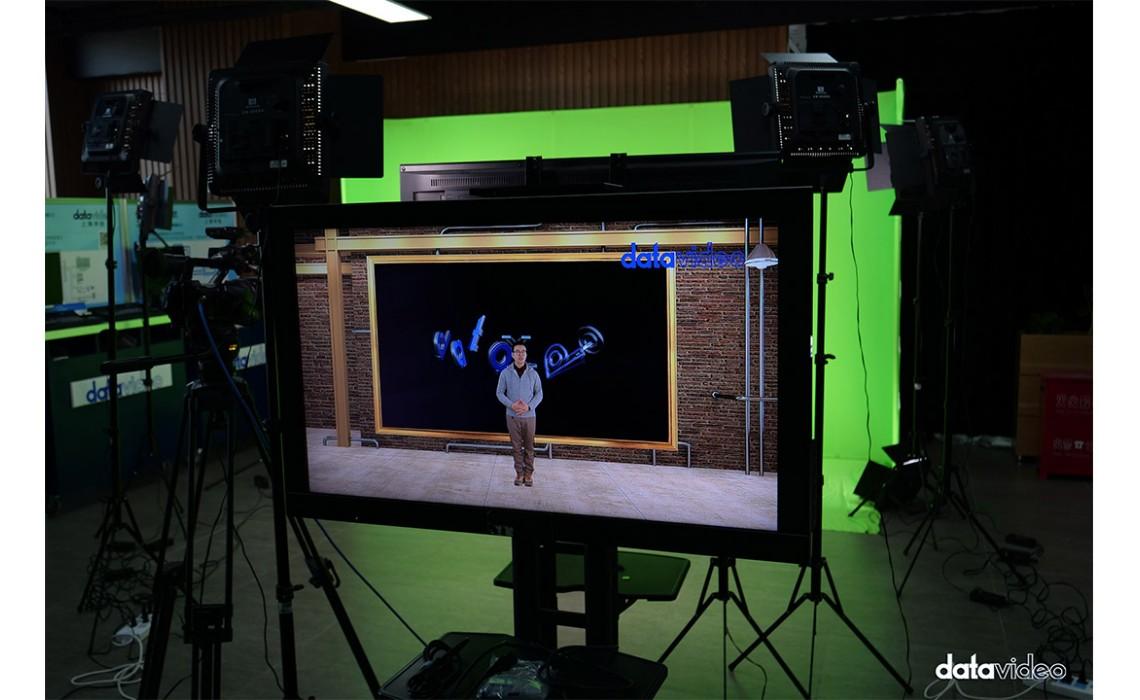 南光结合虚拟抠像素材