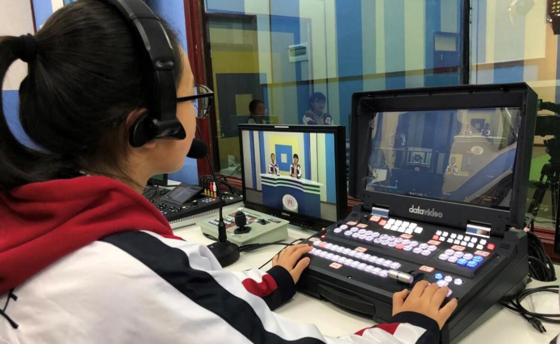 """贵州阳光校园""""创新办学理念,校园电视台风景独好"""""""