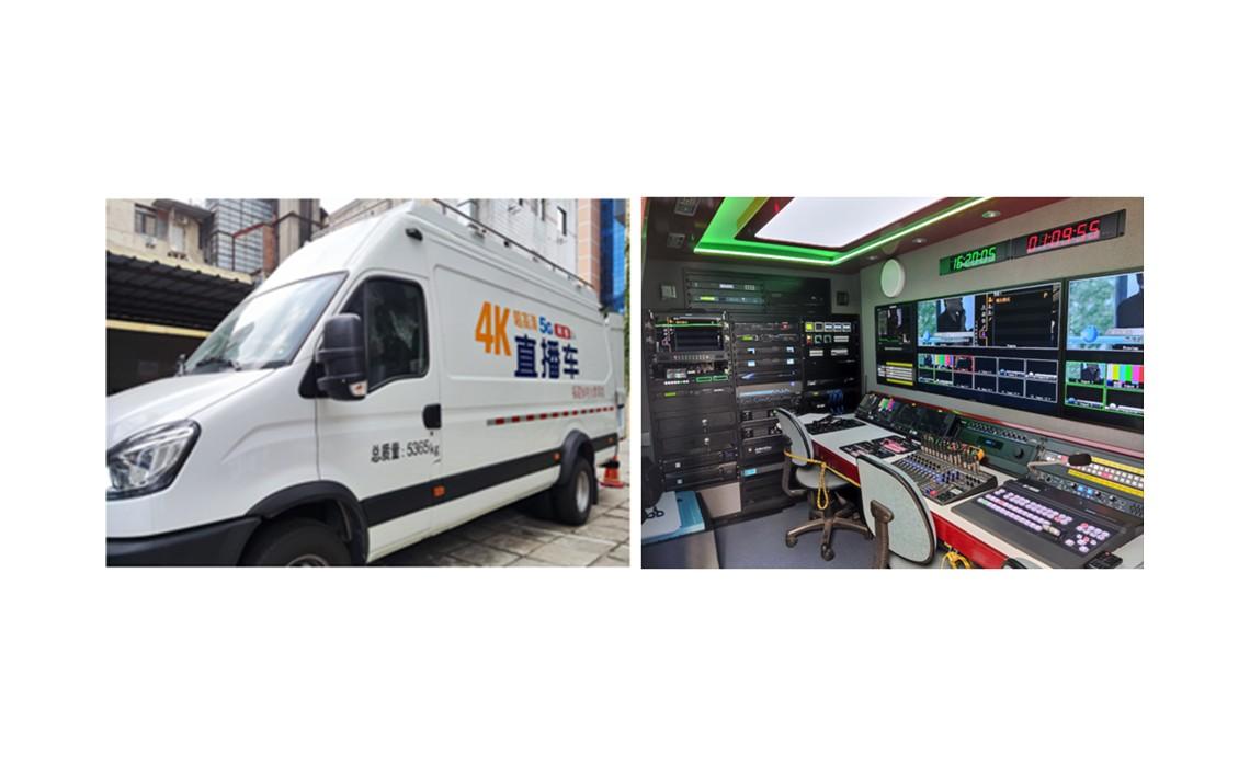福建省电化看著千仞�@一��教育馆4K虚拟@演播室及4K5G转播车解析来�y了