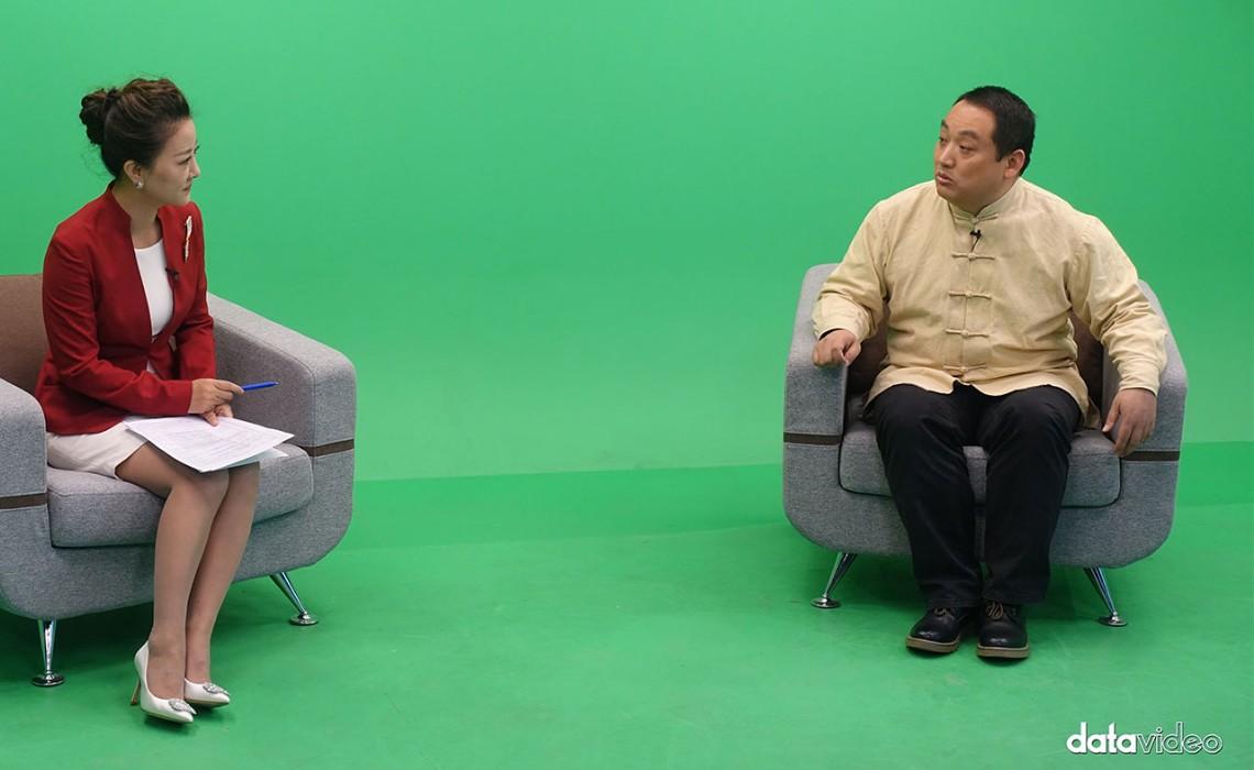 东方传媒技术访谈节目录制